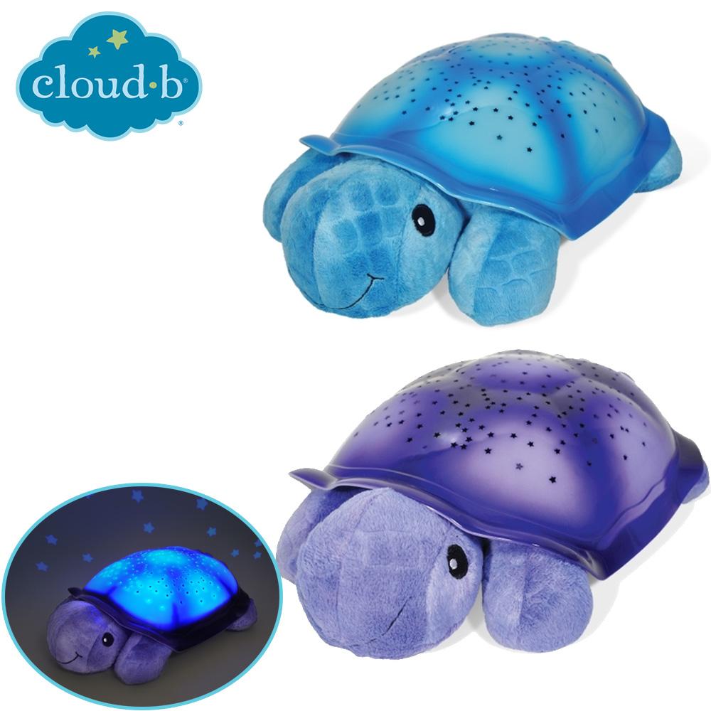 美國《Cloud b》安睡烏龜星光夜燈(2色)