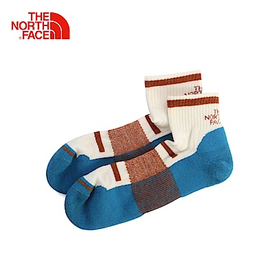 The North Face北面藍色保暖舒適通用中筒襪