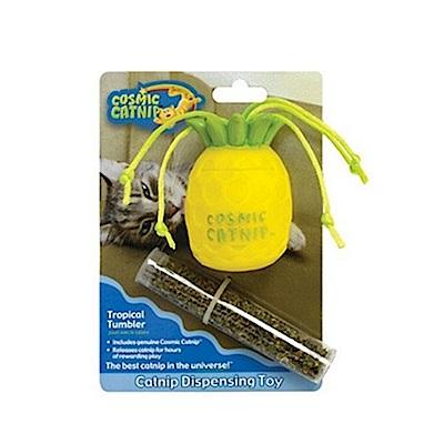 100%天然可填充橡膠貓草玩具 - 鳳梨