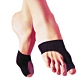 Aqnui 拇指外側腳掌型保護套4個(黑色) product thumbnail 1
