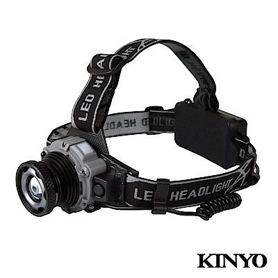 KINYO感應式LED強光頭燈LED710