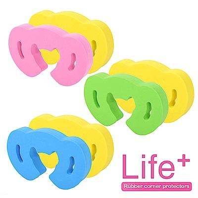 Life Plus 安全防護趣味造型門擋/門夾/門卡_4組8入(話筒)