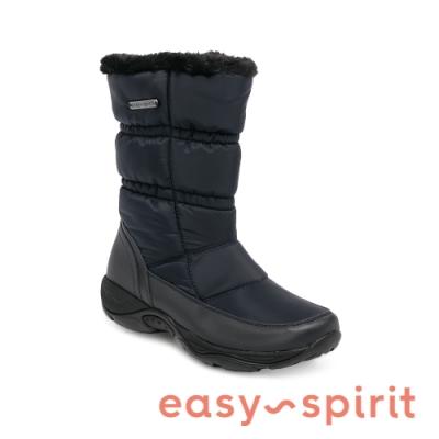 Easy Spirit-seELEMENT2-機能防潑水內刷毛輕型女靴-黑色