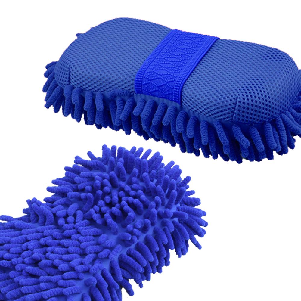 【車的背包】超細纖維大洗車海綿