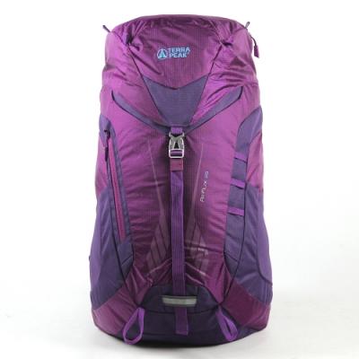英國TERRA PEAK 戶外休閒背包(Air Flux 28)-紫梅