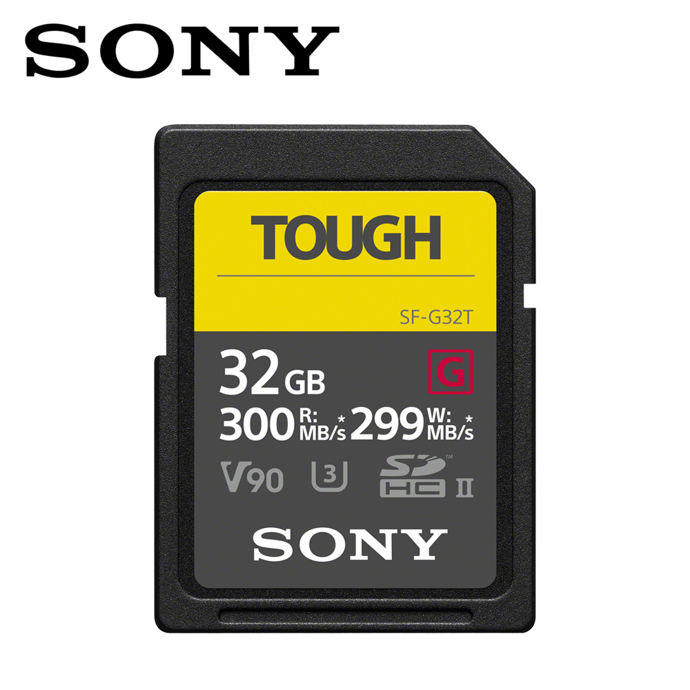 SONY SF-G TOUGH UHS-II高速存取記憶卡 32GB @ Y!購物