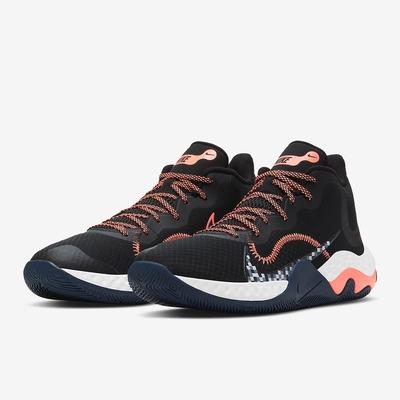 NIKE 籃球鞋 運動鞋 包覆 緩震 男鞋 黑 CK2669006  NIKE RENEW ELEVATE