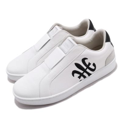 Royal Elastics 休閒鞋 Bishop 低筒 穿搭 男鞋 基本款 皮革 套腳 簡約 輕便 舒適 白 黑 01702009