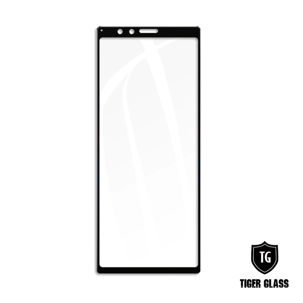 T.G SONY Xperia 1 全包覆滿版框膠鋼化膜手機保護貼 (防爆防指紋)