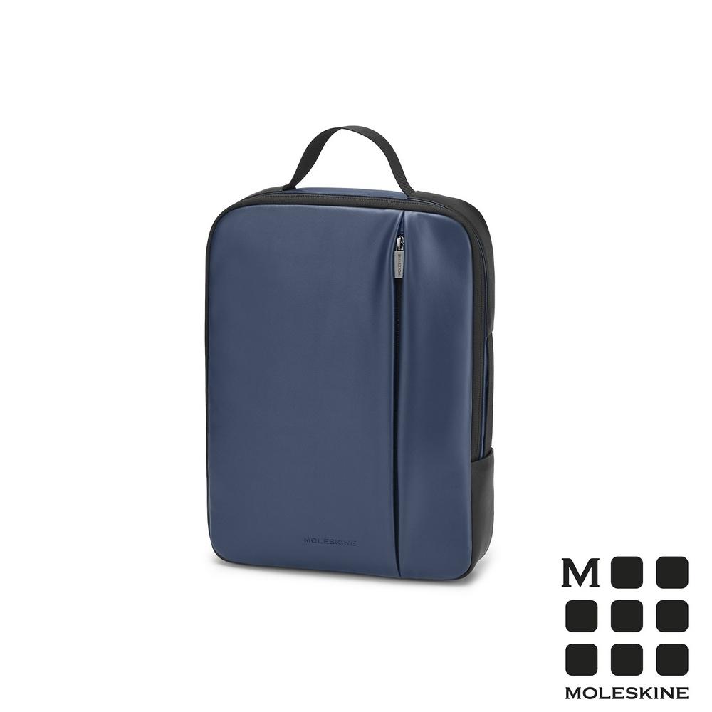 MOLESKINE 經典PRO直式電腦包-13吋寶藍