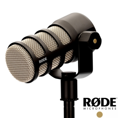RODE PODMIC 廣播級動圈式麥克風│可搭Caster Pro 直播用