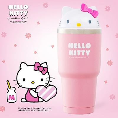 Hello Kitty 授權限量立體造型316不鏽鋼保溫/保冷950ML
