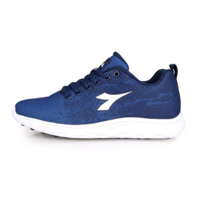 DIADORA 女慢跑鞋-慢跑 路跑 深藍白