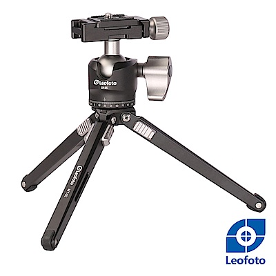 Leofoto徠圖-鋁合金微型三腳架(含雲台)-LH25+MT02