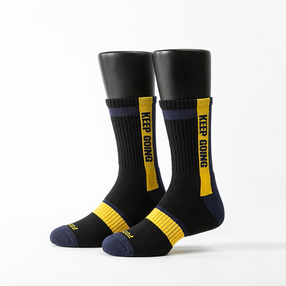 Footer除臭襪-天生贏家運動氣墊襪(男襪-ZH160)