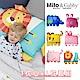 【美國Milo & Gabby】動物好朋友-可水洗防蹣兒童枕心+枕套組-2歲以上(多款任選) product thumbnail 1