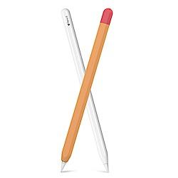 Apple Pencil 第二代專用 矽膠保護筆套-撞色款