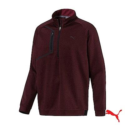 PUMA GOLF 男運動機能保暖立領上衣 紅576121 03