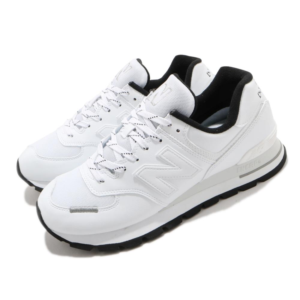 New Balance 休閒鞋 574 低筒 運動 男鞋 紐巴倫 基本款 簡約 舒適 穿搭 白 黑 ML574DTAD