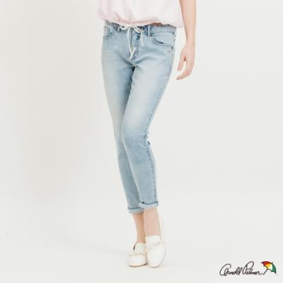 Arnold Palmer-女裝-雪花洗牛仔褲-淺藍