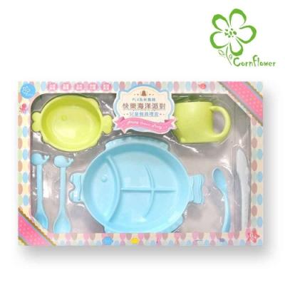 Cornflower 兒童餐具禮盒7入組 (無毒玉米餐具)