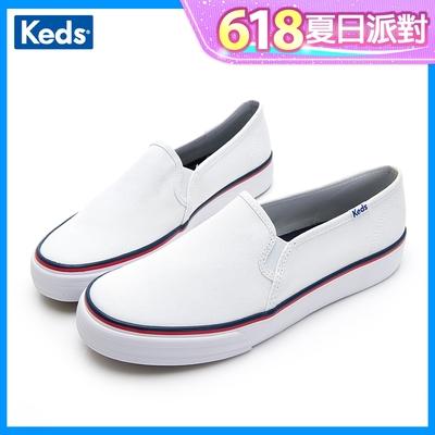Keds DOUBLE DECKER 簡約俐落線條風格休閒便鞋