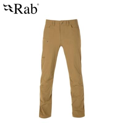 【RAB】Traverse Pants 輕量彈性快乾長褲 男款 孜然棕 #QFU03