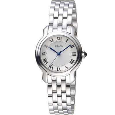 SEIKO 優雅氣質時尚腕錶(SRZ519P1)銀/29mm