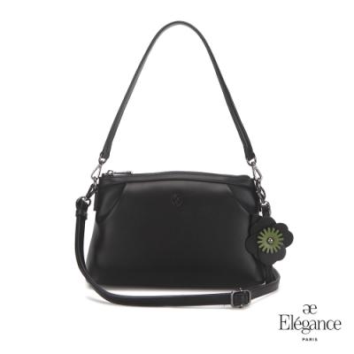 【Elegance】SHOMON 2WAY肩背包-黑色