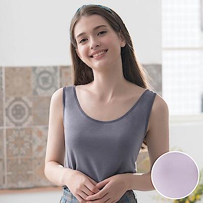 華歌爾-竹纖維 M-LL 背心(紫)環保抗菌-柔暖涼爽