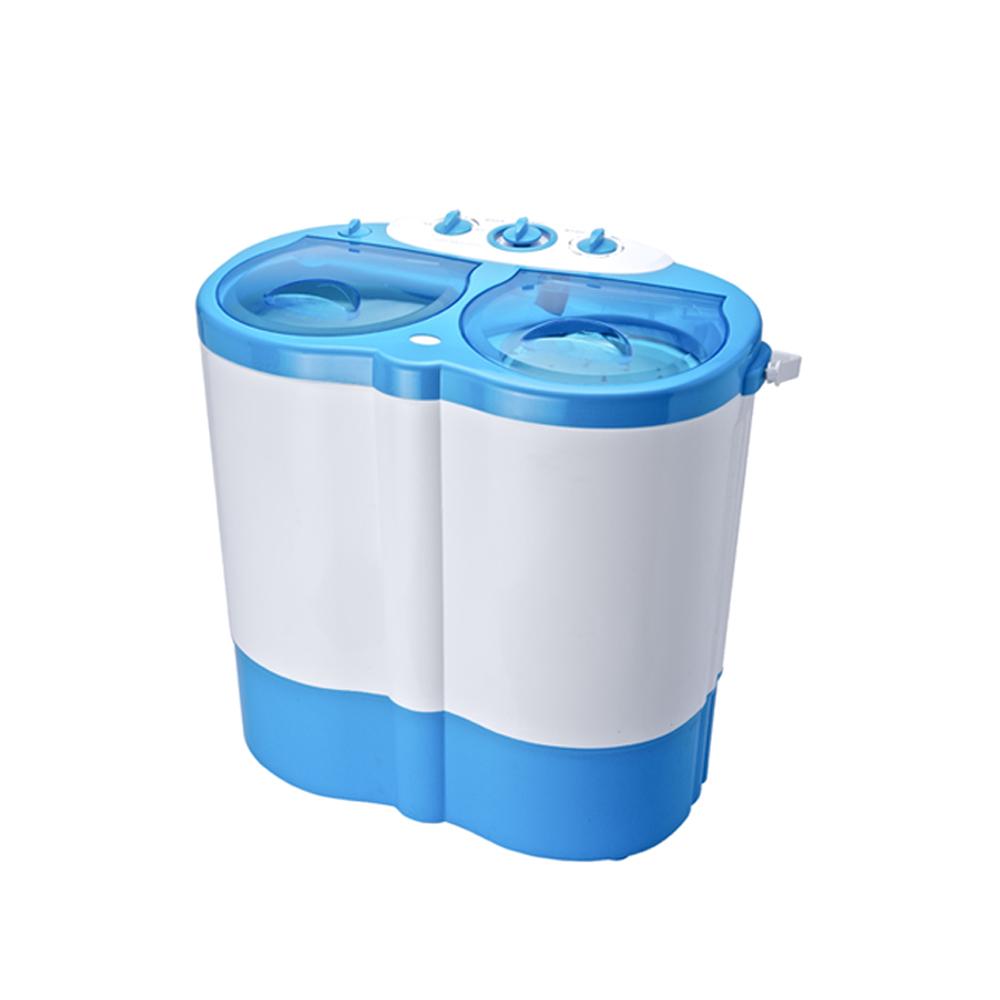 Day Plus Q寶寶3.5kg 洗/脫雙槽洗衣機(HF-O9888)內衣物分開洗