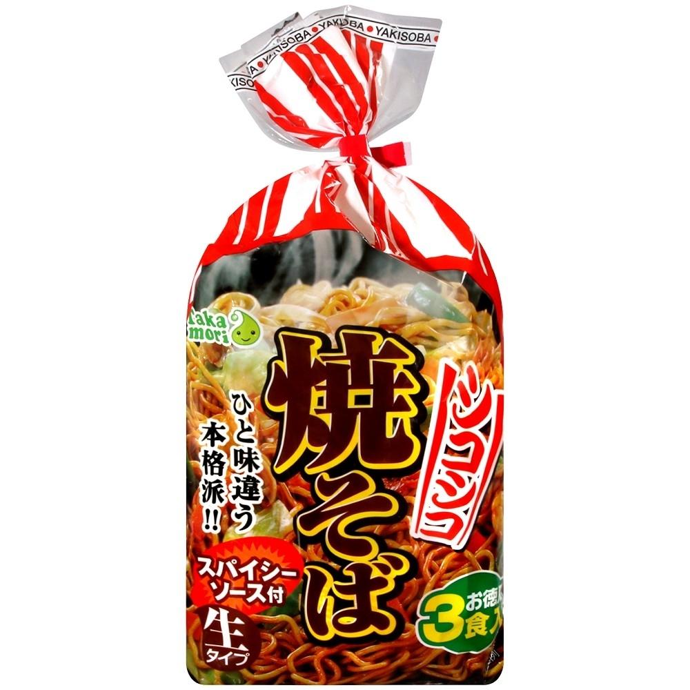 ITSUKI 日式炒麵3包入(474g)