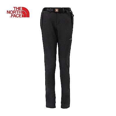 The North Face北面男款黑色透氣防潑水休閒長褲|3L92JK3