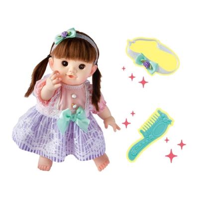 日本POPO-CHAN波波醬娃娃-蝴蝶結蕾絲洋裝長髮POPO-CHAN(3Y+)