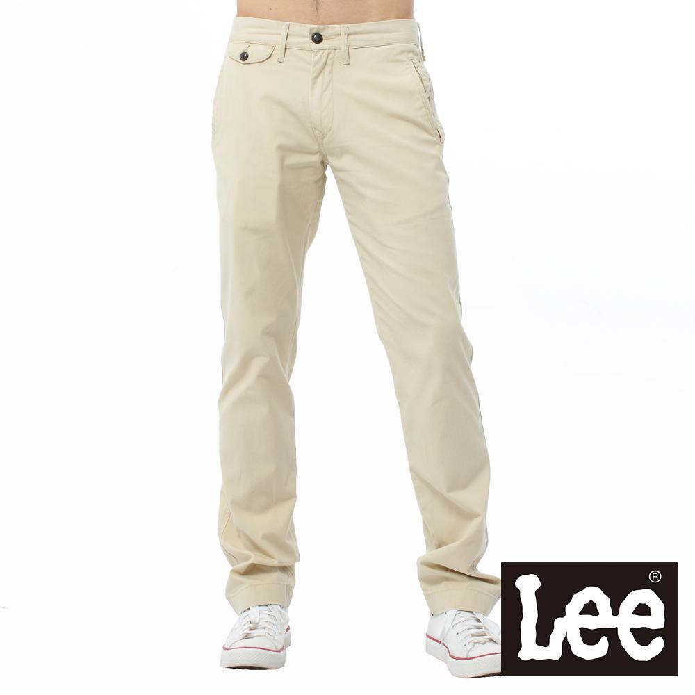 Lee 中腰寬鬆直筒休閒褲 @ Y!購物