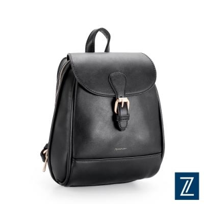 74盎司 Fashion翻蓋後背包[LG-925-FA-W]黑