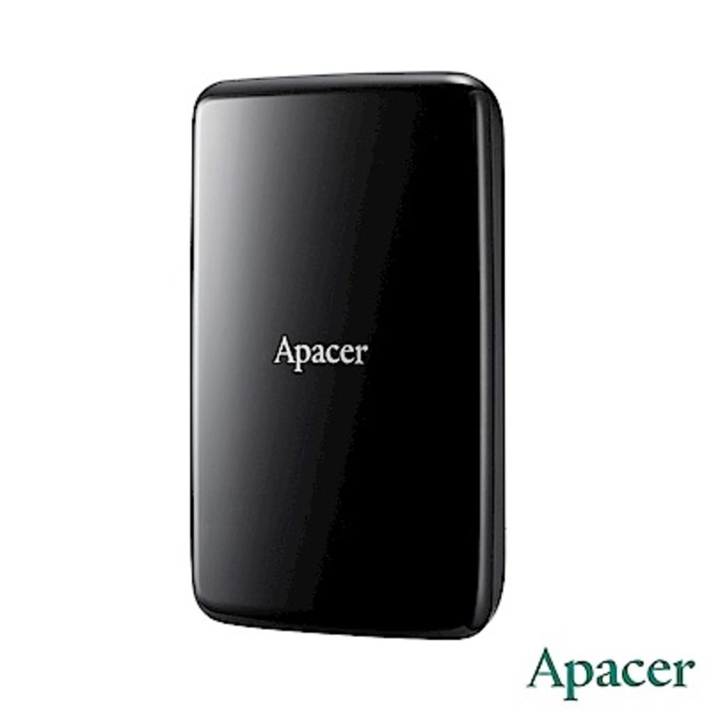Apacer宇瞻 AC233 2TB USB3.1 2.5吋外接硬碟(暗夜黑)