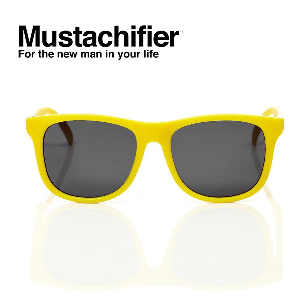 Hipsterkid 美國 抗UV時尚嬰童偏光太陽眼鏡 - 黃色款 (0-2歲)