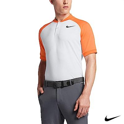 NIKE GOLF 男運動短POLO衫 橘 833080-100