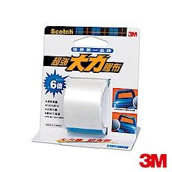 3M 超強大力膠布防水耐高溫膠帶 36mmx3.66m 透明 (2104)
