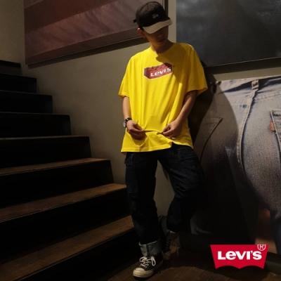 Levis X LEGO 男女同款 短袖T恤 經典樂高積木Logo 寬鬆休閒版型 樂高黃