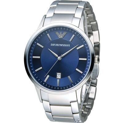 Emporio Armani  Classic 簡約內斂時尚腕錶(AR2477)43mm