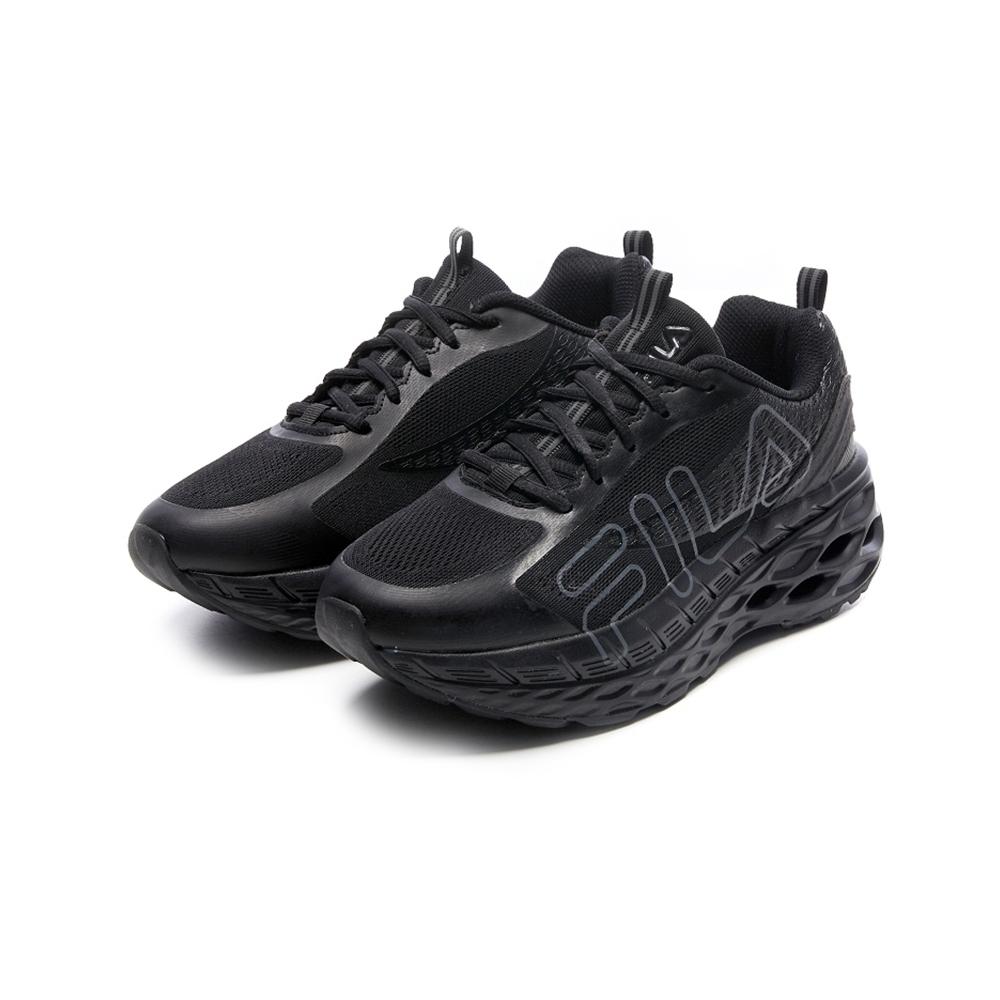 FILA HIVE 中性慢跑鞋-黑灰 4-J031V-004