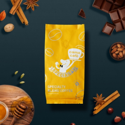 cama cafe 黃金曼特寧咖啡豆-深焙(250g)