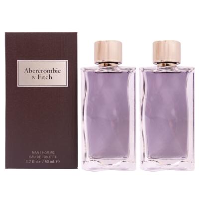 (買1送1)Abercrombie & Fitch 同名經典男性淡香水50ml