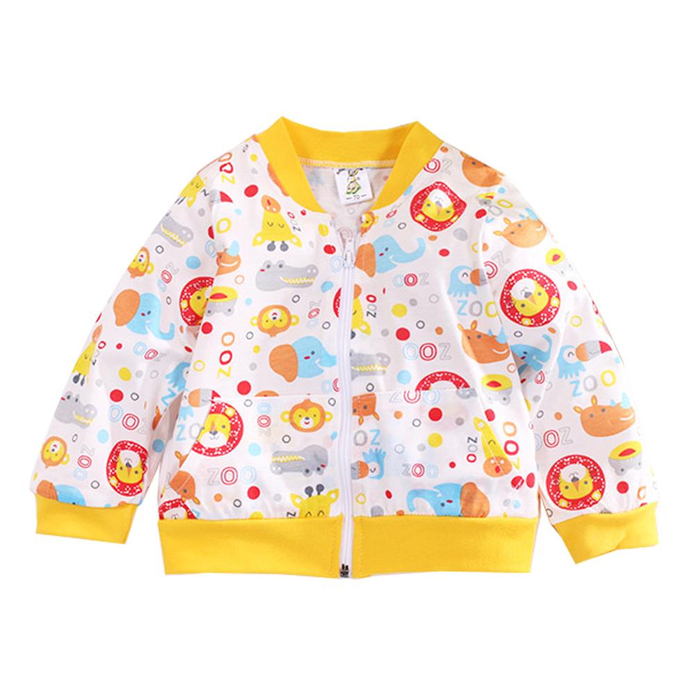 動物印花薄款外套 k50626 魔法Baby