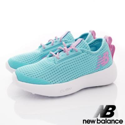 NewBalance 針織輕量運動鞋款 CVBP水藍(中大童段)