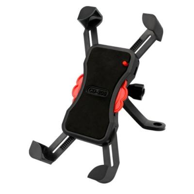 3.5-6.5寸 手機 通用 機車 手機 導航支架-黑色