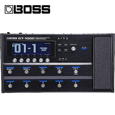 [無卡分期-12期] BOSS GT-1000 吉他綜合效果器
