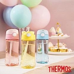 [新品上市]THERMOS膳魔師Tritan兒童吸管瓶0.45L(F4011T)